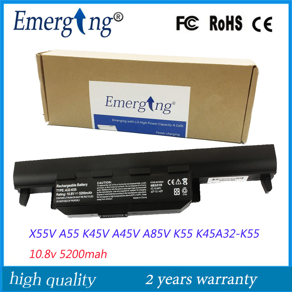 10.8v New Japanese Cell Laptop Battery for ASUS A32-K55 X45 X45V X45U K55A K55 K55DR X85V A85V