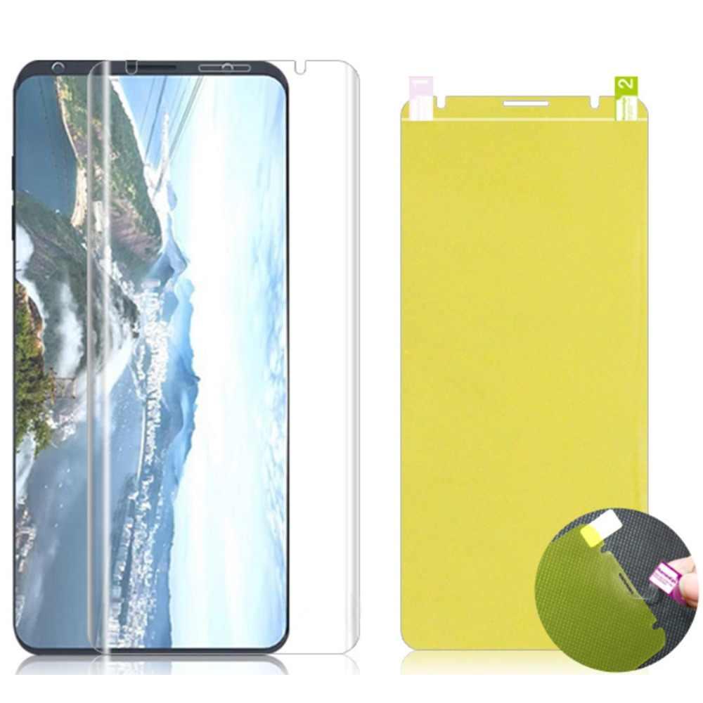 3D Pleine Couverture Souple Film de protection Pour LG G8 Pixel 3 Xl V20 K8 K10 Avant protecteur d'écran Nano Hydrogel Film Pas verre