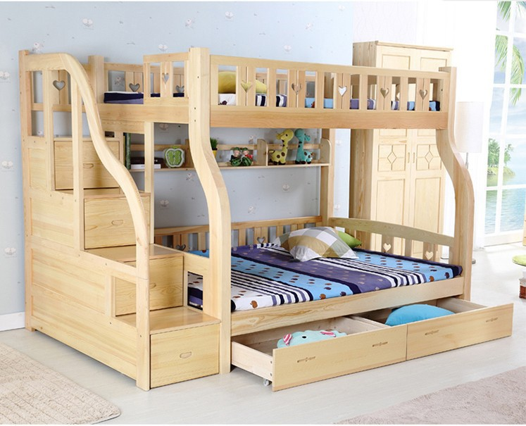 Factory Direct wood bed next level picture bed children's ...