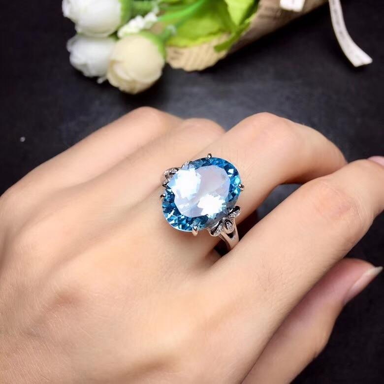 HTB1d6d8bvvsK1Rjy0Fiq6zwtXXaO - Uloveido Natural Blue Topaz Ring 10 Carat Gems 925 Sterling Silver Birthstone Rings