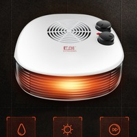 Mini Air Heater Household Heating And Cooling Sun Heater Small Electric Heater Bathroom Office Heating And Heating Fan