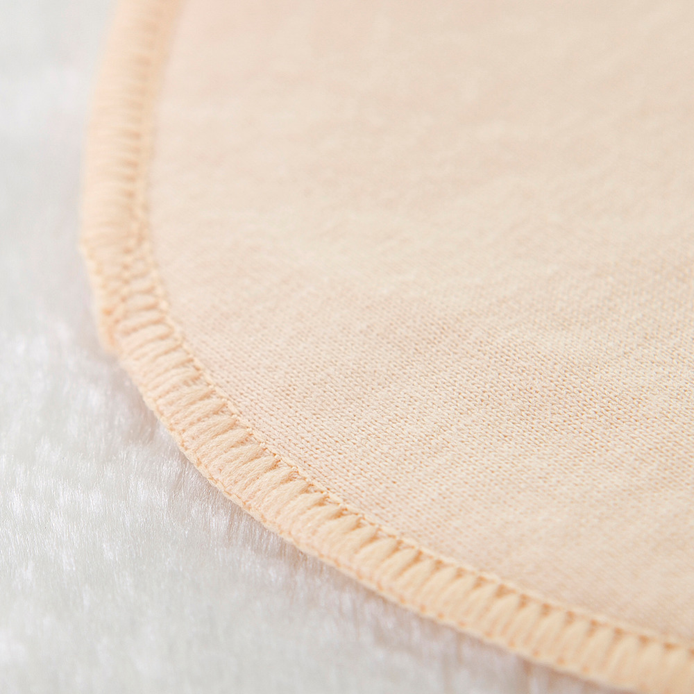 10 PCS Pure Cotton Thin Breathable Washable Reusable Anti Milk Overflow Nursing Breastfeeding Pads for Pregnant Women
