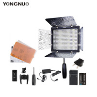 100% Authentic yongnuo YN300 III YN 300 III 3200k 5500K CRI95 Camera Photo LED Video Light with AC Power Adapter + Battery KIT