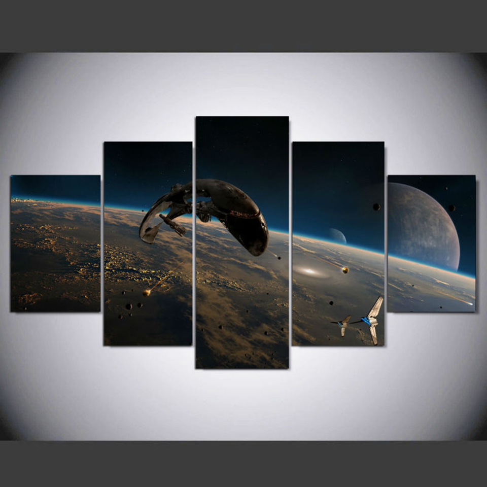Único Arte Enmarcado Guerra De Las Galaxias Galería - Ideas ...