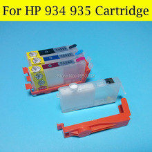 Best Refill ink cartridge for hp 934 935 with auto reset chip for hp Officejet pro 6830 стоимость