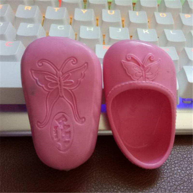 10color válasszon 1db cipőt viselnek illeszkednek 43cm Baby - Babák és kiegészítők