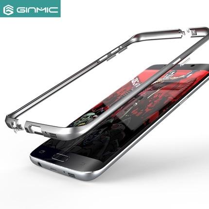 Цена за Ginmic Меч Ultra Light Полный Алюминиевого Сплава С ЧПУ Бампер Мобильного Телефона Защитите Case Для Samsung Galaxy S7 Edge