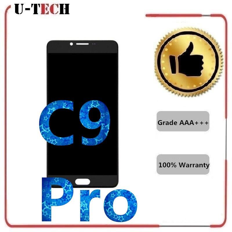 Gansta 6,0 AMOLED ЖК дисплей Дисплей для SAMSUNG Galaxy C9 Pro ЖК дисплей C9000 C9 Сенсорный экран планшета Запчасти для авто