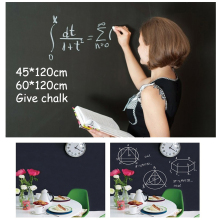 New Creative 60x200cm Chalk Board Blackboard Vinyl Draw Chalkboard Label  Month Calendar Weekly Record Wall Stickers