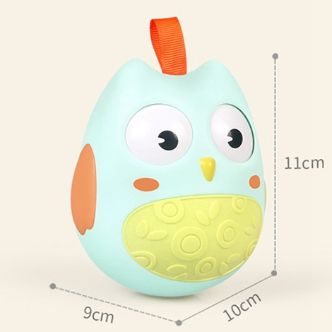 0 12 Months large tumbler Baby Toy Baby Ball Toy Rattles Develop Baby Intelligence Baby Toys Plastic Hand Bell Rattle in Baby Rattles Mobiles from Toys Hobbies
