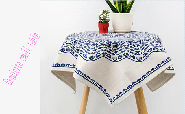 Free Shipping Home Textiles Modern Cotton Table Cloth Square Round  Tablecloth Creative Tablecloths Table Cover