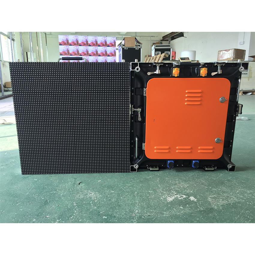 Full Color SMD3535 64x64dots P8mm Outdoor Waterproof Die Casting Aluminum Cabinet Led Display Screen Outdoor Refresh Rate High LED Display Panel