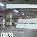 Микроволновый датчик движения автоматическое переключение и затемнение корпус ПК датчик три-доказательство лампы для подземной парковки ...
