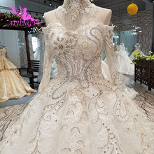 AIJINGYU Wedding Dresses Germany Puffy Princess Ball Gown Plus Size 2021 2020 Gowns For Woman Wedding Dress In Ivory
