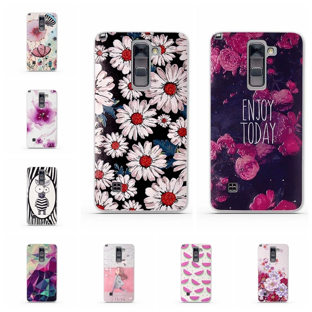 brand new 22c03 59719 US $1.02 7% OFF|TPU Soft Phone Cases for LG G Stylo 2 Plus/Stylus 2  Plus/K550/K530F/K535D Case 3D Phone Back Cover Silicone Mobile Phone  Fundas-in ...