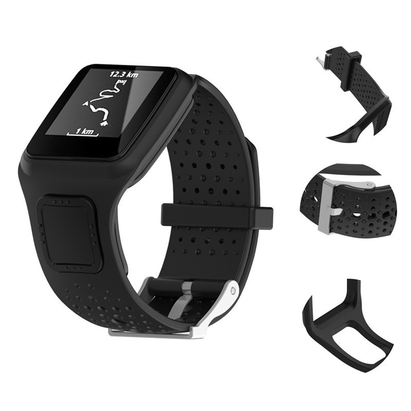 Replacement Silicagel Soft Band Strap For TomTom1 Multi Sport / Cardio GPS Watch New Silicone Replacement Soft Band for TomTom бытовая химия wellery кондиционер для белья аромат моря и кедра 1000 мл