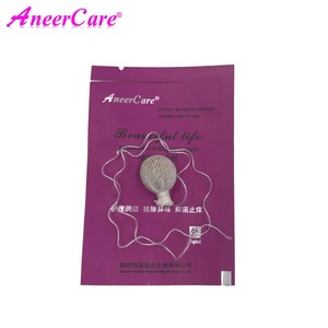 Вагинальный медицинский тампон, 6 шт., тампоны для женской гигиены, влагалища, с жемчужинами, гинекологический уход