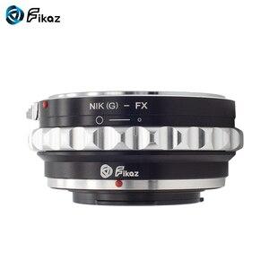 Image 4 - Fikaz AI (G)  FX עדשת מתאם טבעת עבור ניקון AI G עדשה כדי Fujifilm X הר X Pro1 X M1 X E1 X E2 X T1 X100 x10T מצלמה
