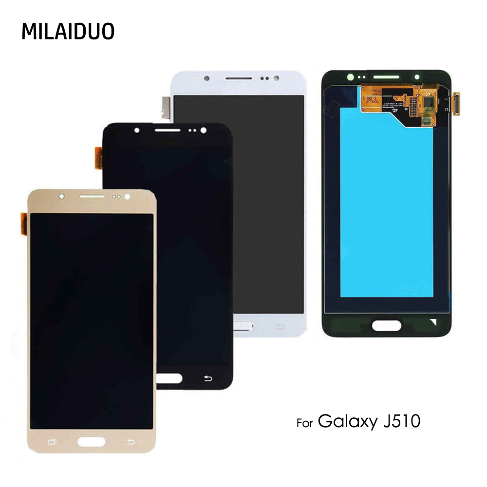 Écran LCD AMOLED pour Samsung Galaxy J5 2016 J510 SM J510FN J510M J510F J510Y J510G J510H/DS OLED écran tactile numériseur