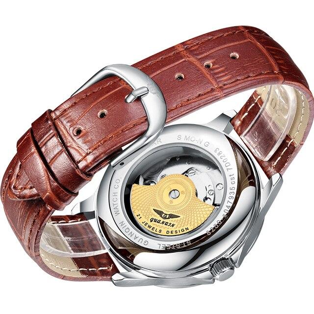 Men's mechanical waterproof watch 5