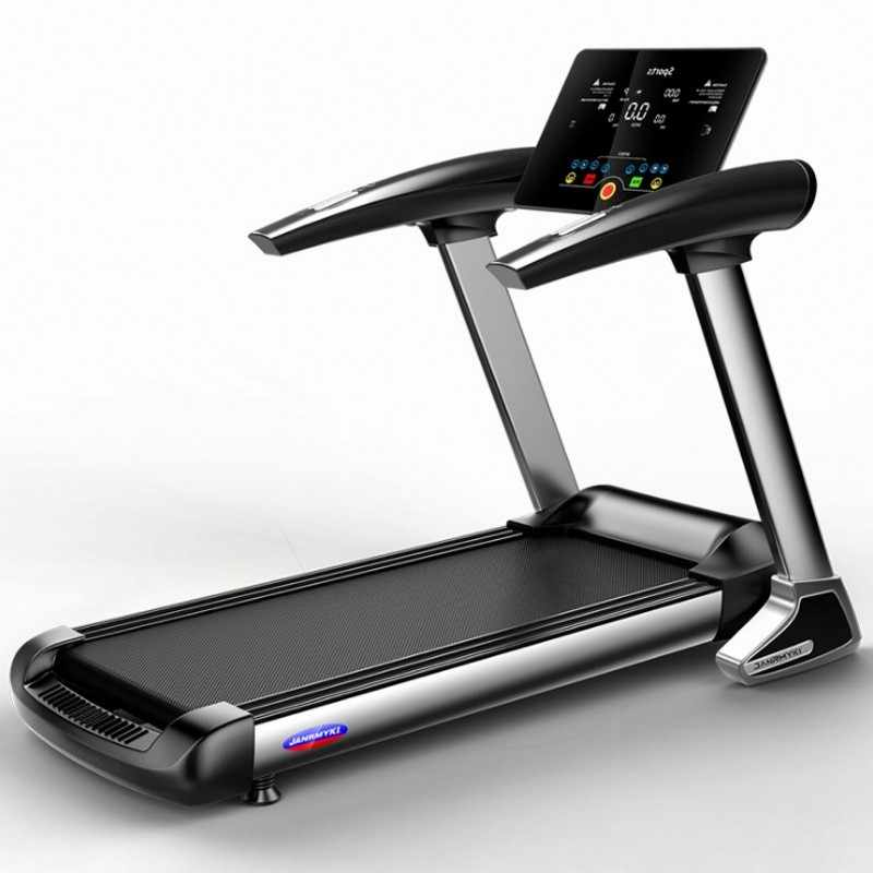 Folding Treadmill Home Exercise Electric Bluetooth Speakers HD Screen Shock Abs