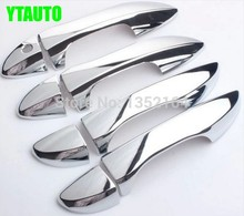Auto chrome accessories,door handle cover trim for toyota corolla 2014-2018,ABS chrome 8pcs/lot free shipping