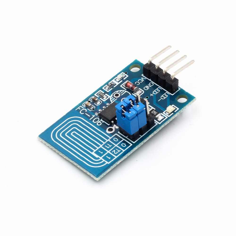 スマートエレクトロニクス容量性タッチ調光定圧力無段階調光 pwm 制御パネルタイプ led 調光スイッチモジュール