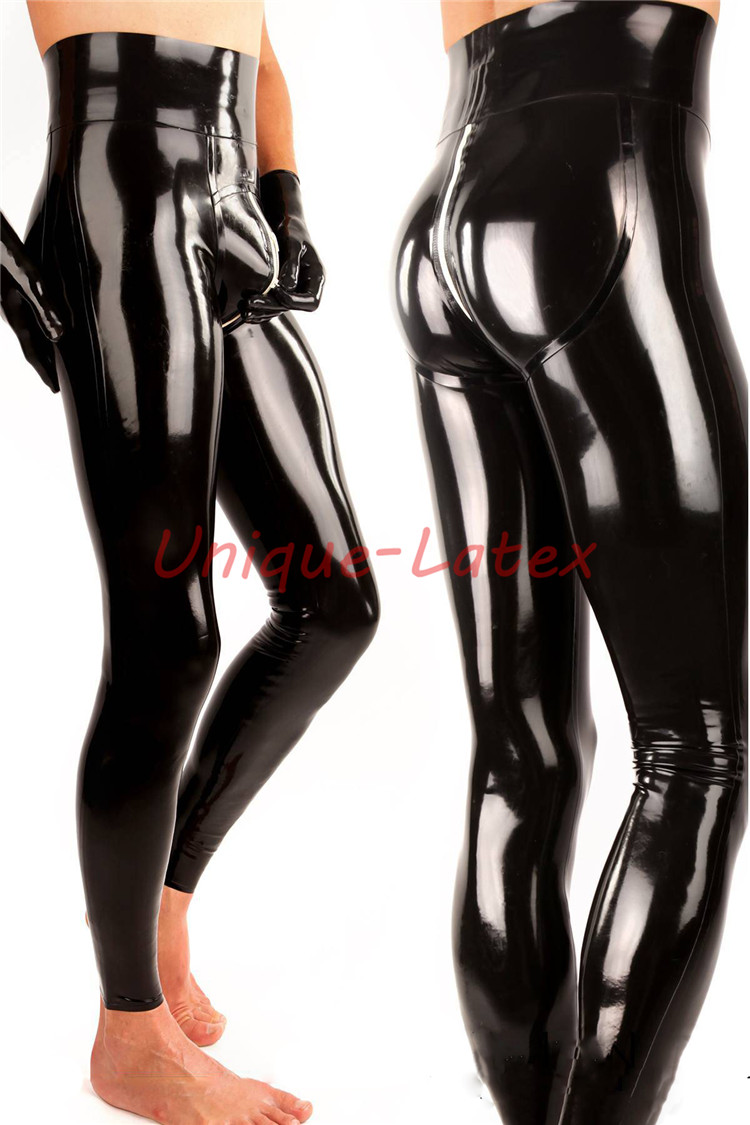 Latex Trousers 3D HIPS U ZIP HIGH WAIST CUSTOMIZED