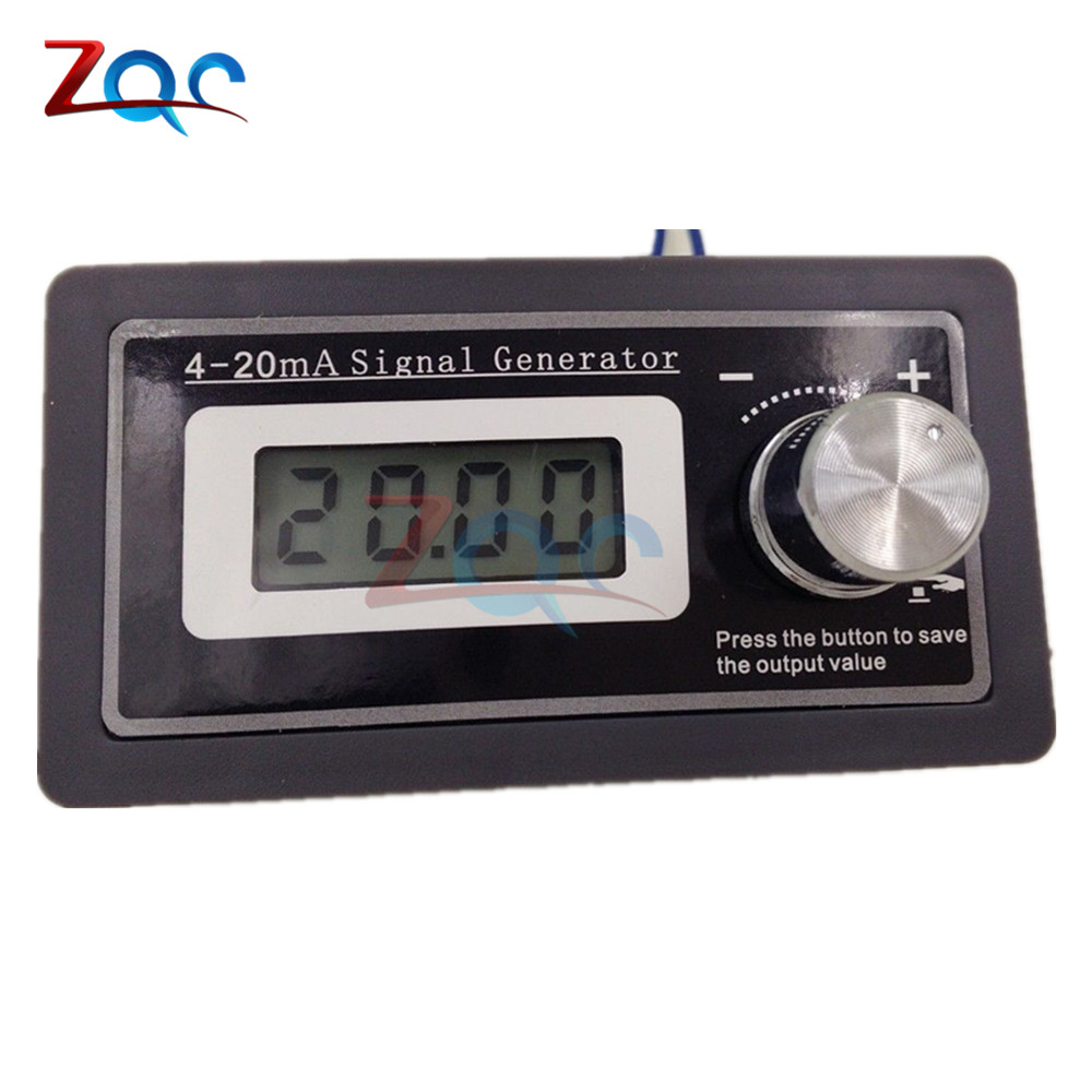 4-20mA PLC Signal Generator Current Transducer Test Two Wire Output hall current sensor transducer current sensors output 4 20ma 0 5v 0 600a 38mm hole diamter