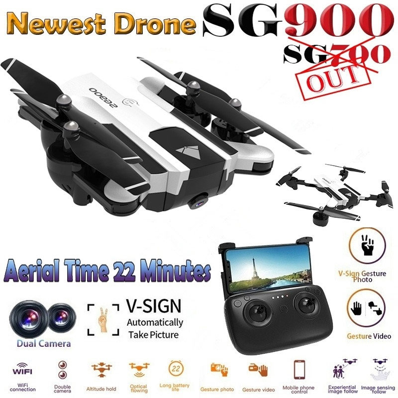 SG900 Drones GPS with Camera HD RC Helicopter Profissional Racing FPV Drone Quadrocopter SG900 Drone 1080P Follow Me Mini Drone