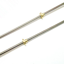 THSL-300-8D Lead Screw Dia 8MM Thread 8mm Length 300mm with Copper Nut For RepRap 3D Printer