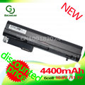 Golooloo battery for HP COMPAQ 2533t  EliteBook 2540p 2530p Business Notebook 2510p 2400 nc2400 HSTNN-XB22 HSTNN-XB23 RW556AA