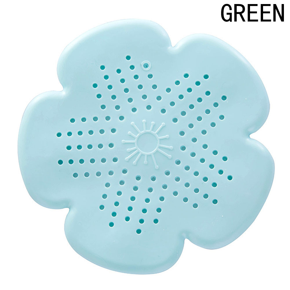 Floor Drain Silicone Sink Drain Hair Stopper Shower Cover Kitchen ...