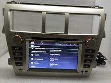 16G 1024*600 Quad Core Android 6.0 para TOYOTA VIOS 2007-2011 2012 2013 2014 2015 Coches Reproductor de DVD de Navegación GPS Radio
