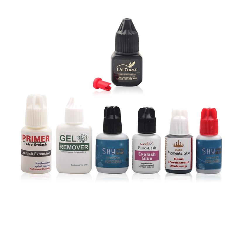 Eyelash Extension Glue Lady Black Glue Lashes Primer Eyelashes Remover For Professional Individual Lashes Adhesive Sky Glue