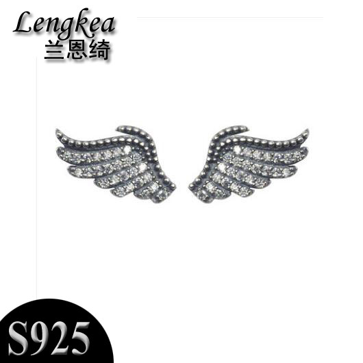 Earrings for men fashion womens earrings Wings models men jewelry women jewelry men earrings free shipping charms trinket