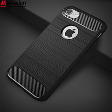 Ultra Thin Soft TPU Silicone Case For iPhone X XR XS 6 6S 7 8 Plus Rubber Carbon Fiber Covers For iPhone XS MAX 7 Cases Capa carbon fiber leather coated soft tpu case shell for iphone 6s 6 4 7 inch dark blue