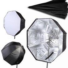 """80 см / 32 """" зонтик Softbox бролли отражатель диффузор с углеродного волокна кронштейн для вспышки Speedlite вспышка света"""