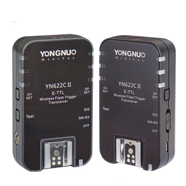 YONGNUO YN-622C II YN622C II HSS E-TTL déclencheur pour appareil photo Canon avec YN622C YN560-TX pour Canon 100D 600D 700D 5D III etc.