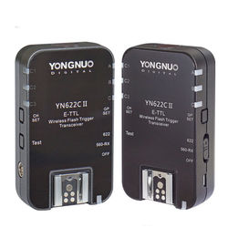 YONGNUO YN-622C II YN622C II HSS E-TTL Flash Trigger for Canon Camera With YN622C YN560-TX for Canon 100D 600D 700D 5D III etc