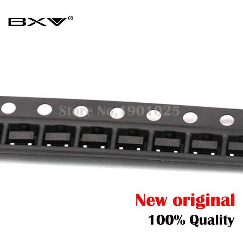 100PCS 2N7002LT1G SOT23-3  2N7002 SOT23 SMD New Original
