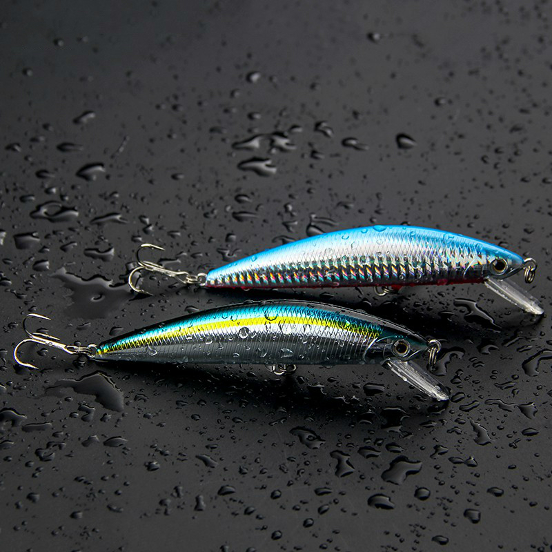 FJORD Hot Sale Quality 5pcs/lot 125mm 40g Fishing Lure Minnow Laser Hard Professional SwimBait Artificial Bait Sinking Lure