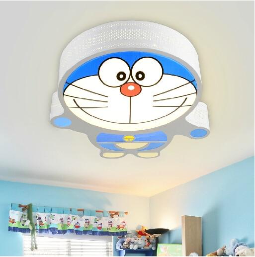 Kids decorations doraemon metals child room wholesale for Ceiling lights for kids bedroom