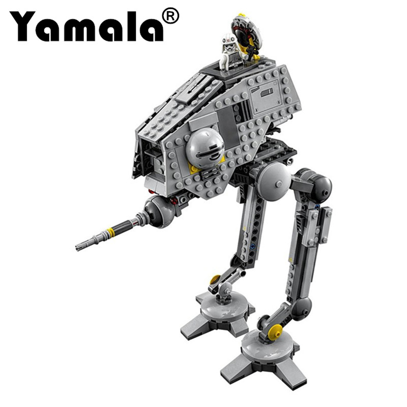 [Yamala]499pcs New Star Wars AT-DP Building Blocks Toys Gift Rebels Animated TV Series Compatible With LEGOINGIY Starwars GIFTS 2016 499pcs bela 10376 new star wars at dp building blocks toys gift rebels animated tv series compatible