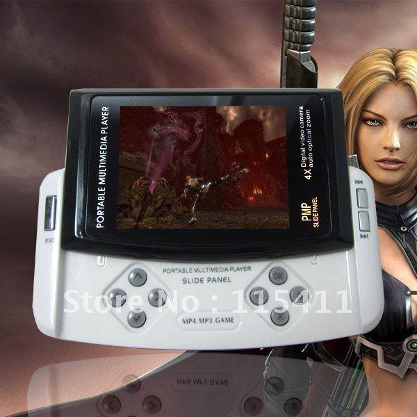 "MP3 Player MP5 MP4 New Player 2.8"" Inch Screen 16GB Black White FM TV-OUT Ebook Camera M-220"
