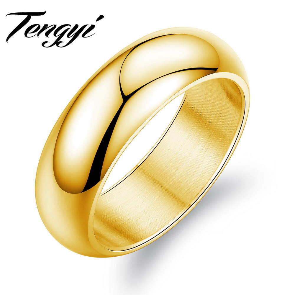 texture wide ring for fit wedding band organic men women unique media comfort bands yellow unisex gold