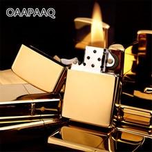 По-дебел мед лед запалка керосин масло огледало запалка шлифовъчен диск зареждаеми цигара пура ретро тютюн бар запалки  t