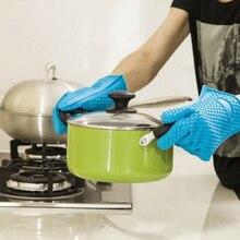 Выпечки микроволновая кухонная посуда Прихватки кухонные силиконовые перчатки для готовки силиконовая решетка для барбекю перчатки Инструменты кухонные инструменты