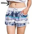 KISSyuer быстросохнущие Саншайн пляжный шезлонг Boardshorts купальник женщин горячие сексуальные женщины Пара Женщины Совета Шорты KBS1015