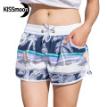 KISSyuer Quick-drying Sunshine beach deck chair Boardshorts women swimsuit hot sexy women Couple Women Board Shorts KBS1015